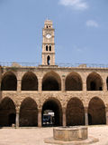 Akko Khan al Omdan Clock Tower 2008 Stock Photography