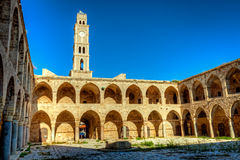 Akko landmark - Han El-Umdan Royalty Free Stock Image
