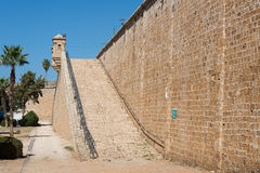 Akko walls Royalty Free Stock Photo
