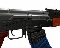 Akm assault rifle 3d illustration Stock Photo
