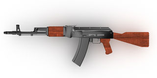 AKM Avtomat Kalashnikova Royalty Free Stock Photos