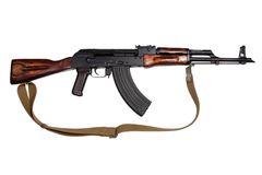 AKM - Kalashnikov assault rifle Royalty Free Stock Images