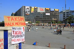 AKM Taksim Square Royalty Free Stock Images