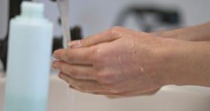 Akne-Haut-Behandlung stock video footage