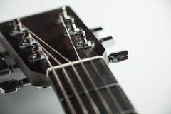 Akoestisch gitaarasblok Stock Afbeeldingen