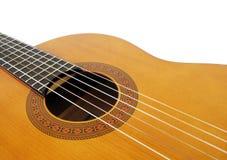 Akoestische gitaar Stock Afbeelding