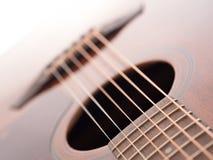 Akoestische gitaar Royalty-vrije Stock Afbeelding
