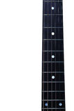 Akoestische gitaar fretboard Stock Foto