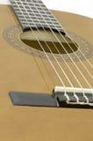 Akoestische gitaarbrug stock foto's