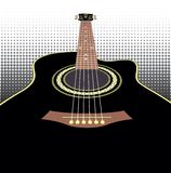 Akoestische gitaren Stock Afbeeldingen