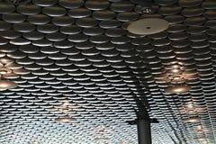 Akoestische isolatie op plafond Stock Afbeelding