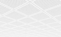 Akoestische plafondtegels Stock Foto's