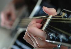akord gitara Fotografia Stock