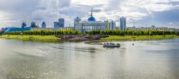 Akorda - la résidence du président de la République du Kazakhstan Image stock