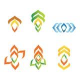 Akorn logoer Arkivfoton