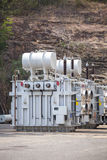 Akosombo Hydroelectric Power Station on the Volta River in Ghana Stock Images