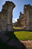 akra priory grodowy przyklasztorny Zdjęcie Stock