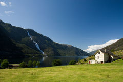 Akrafjord in Norway Stock Photo