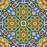 Akram Morocco Pattern Four royaltyfri illustrationer