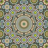 Akram Morocco Pattern Seven Stockbild
