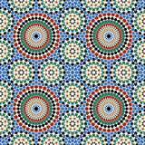 Akram Morocco Pattern Six Stock Illustratie