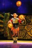 akrobacj artysty Beijing występu ansambl obrazy royalty free