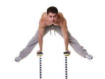 akrobat Fotografering för Bildbyråer