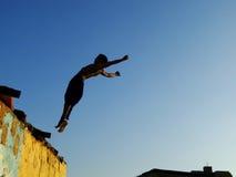 akrobat Royaltyfri Foto