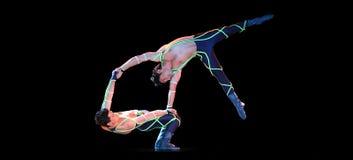 akrobat Royaltyfri Fotografi