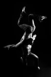 akrobata obrazy stock