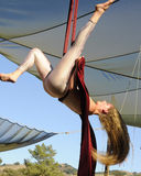 akrobata anteny występ Zdjęcia Royalty Free