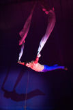 Akrobata cyrkowy artysta Fotografia Stock