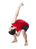 akrobata mężczyzna Obrazy Royalty Free