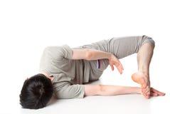 akrobata mężczyzna Fotografia Royalty Free