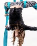 Akrobata przy super bowl wydarzeniem Obraz Stock