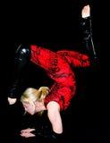 Akrobatik stockbild