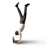 Akrobatische Arbeit Lizenzfreie Stockfotografie