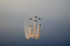 Akrobatische Flugzeuge Stockfotografie