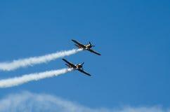 Akrobatische Flugzeuge Lizenzfreie Stockbilder