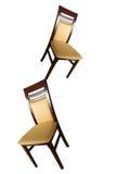 Akrobatische Stühle Stockbild