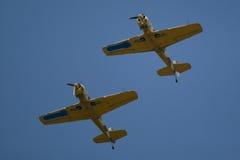 Akrobatisches Flugzeug Stockfotos