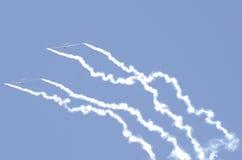 Akrobatiska glidflygplan Arkivbild