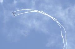 Akrobatiska glidflygplan Royaltyfri Fotografi