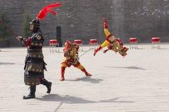 Akrobatiska Xian Royaltyfria Bilder