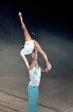 Akrobatiskt Arkivfoton