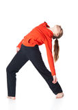akrobatkvinna Arkivfoton