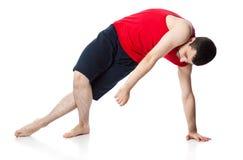 akrobatman Royaltyfri Fotografi