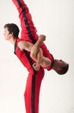 Akrobatryggsäck Fotografering för Bildbyråer