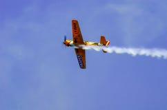akrobatyczni samoloty Obrazy Royalty Free