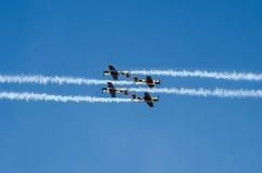 akrobatyczni samoloty Obrazy Stock